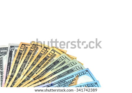 Money , Currency, Paper Currency. - stock photo