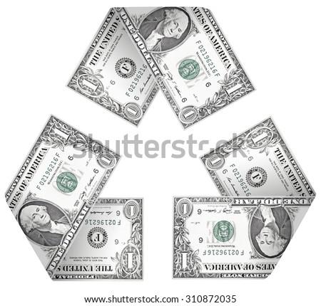 Money Cycle - stock photo