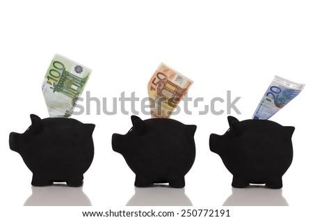 Money Decision - stock photo