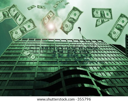 Money exchange - stock photo
