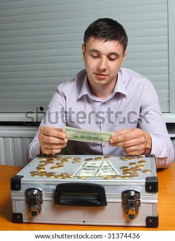 money expert - stock photo