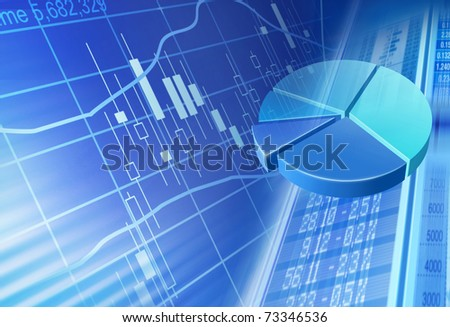money flow - stock photo