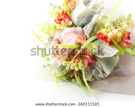 Money Flower. - stock photo