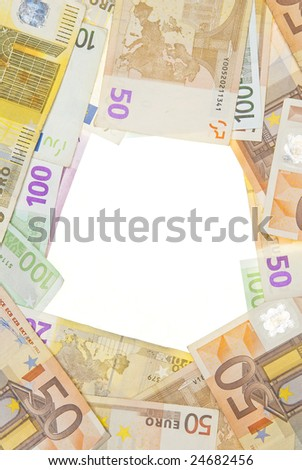 Money Frame Background