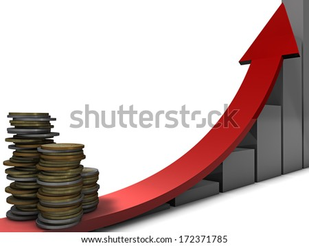 Money Growth - stock photo