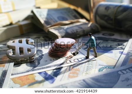 Money High Quality Stock Photo  - stock photo