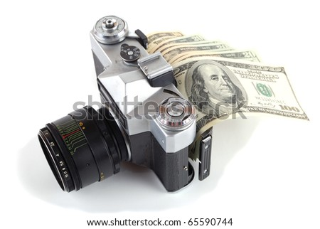 Money in the camera
