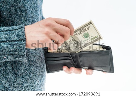 money in the wallet