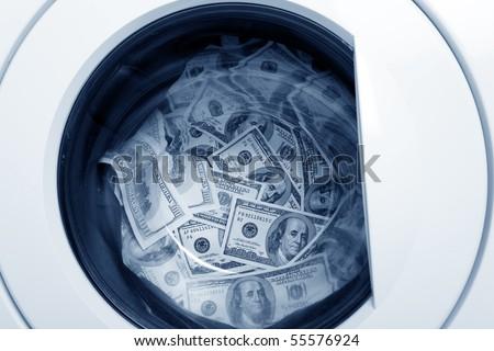 money laundry, Organized Crime concept - stock photo