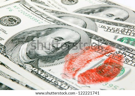 money loving - stock photo