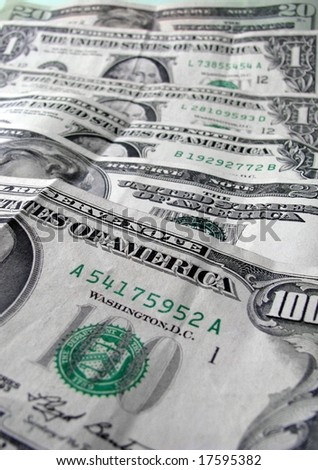money,money,money - stock photo