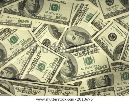 MONEY MONEY MONEY - stock photo