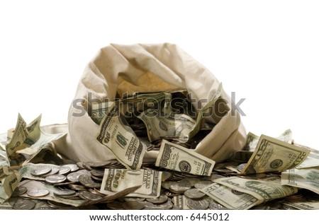 Money! Money! Money! - stock photo