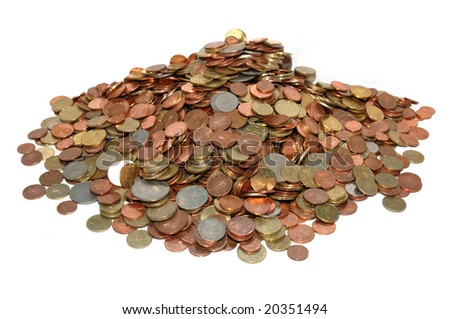 Money Mountain - stock photo