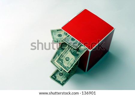 money out of the box