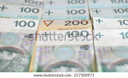 Money - Polish currency