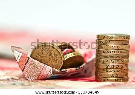 Money - Saving Investment - stock photo