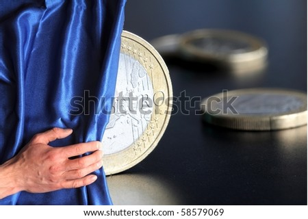 money showing financial success or business investment for good future - stock photo