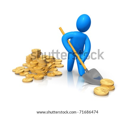 Money transfer - stock photo