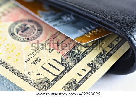 Money usd cash. Money in wallet