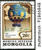 MONGOLIA - CIRCA 1982: A stamp printed in Mongolia shows French Montgolfier 1783, series, circa 1982 - stock photo