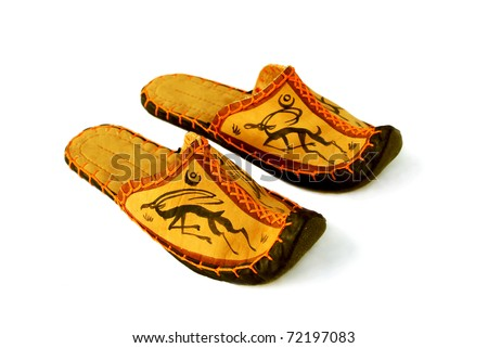 Mongolian slippers