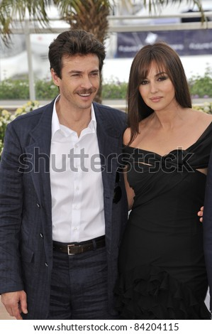 "Monica Bellucci & Alessio Boni at photocall for ""Sanguepazzo - Une Histoire Italienne"" at the 61st Annual Cannes Film Festival. May 19, 2008  Cannes, France. Picture: Paul Smith / Featureflash"