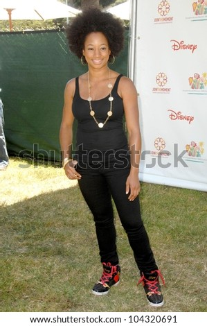 Monique Coleman at the 20th Annual A Time For Heroes Celebrity Carnival benefitting Elizabeth Glaser Pediatric AIDS Foundation. Wadsworth Theater, Los Angeles, CA. 06-07-09