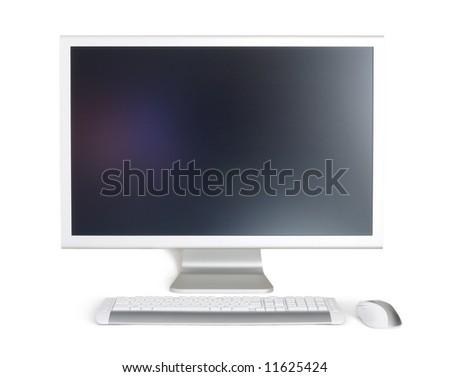 monitor - stock photo