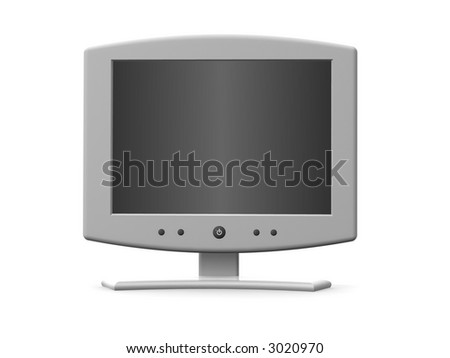 Monitor. 3d