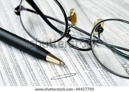 Monitor the performance of the stocks we own - stock photo