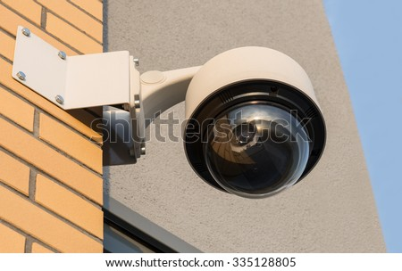 monitoring camera - stock photo