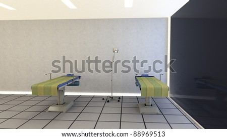 Monitoring Room - stock photo