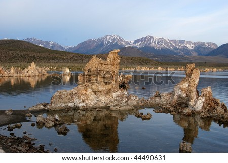 mono lake, california - stock photo