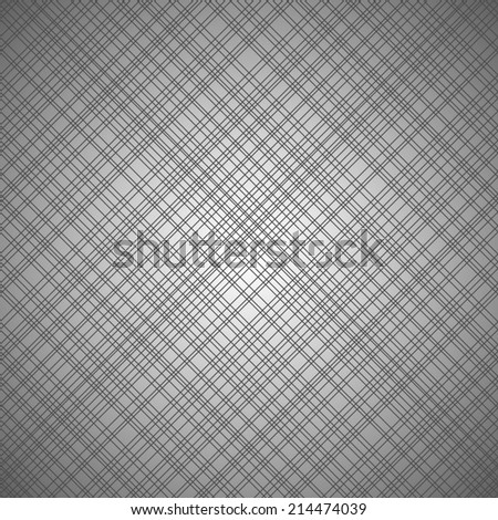 Monochrome seamless pattern with cross lines. Raster version