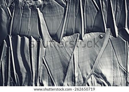 monochrome texture ice - stock photo