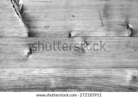 monochrome wood texture, black and white - stock photo