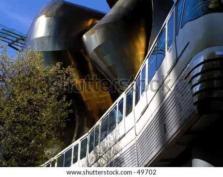 Monorail at EMP