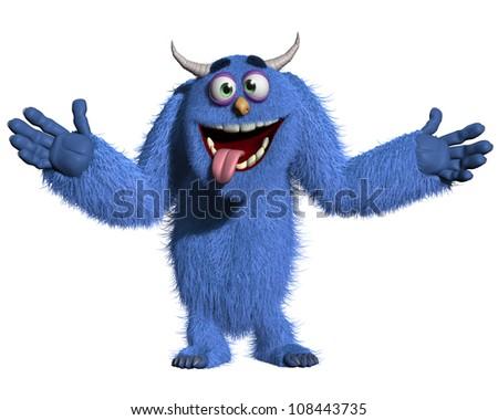 monster - stock photo
