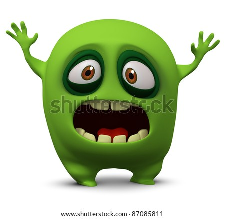 monster - stock photo