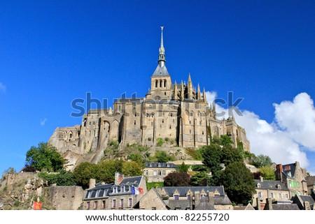 Mont Saint Michel - France - stock photo
