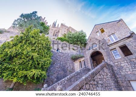 Mont Saint Michel - Normandy - France. - stock photo
