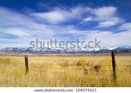 Montana Landscape - stock photo