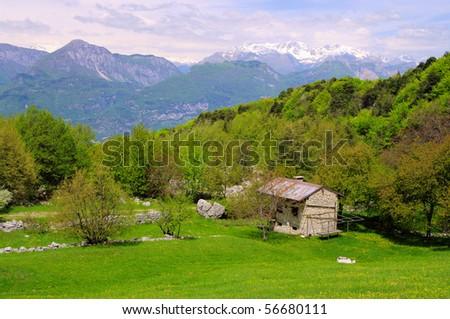 Monte Baldo - stock photo