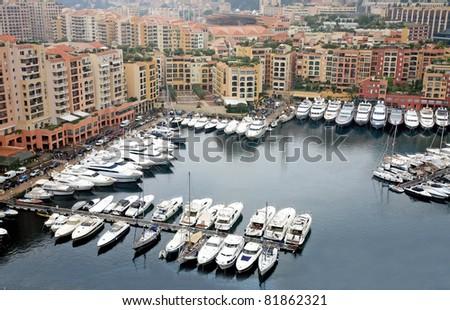 Monte Carlo, Monaco - stock photo