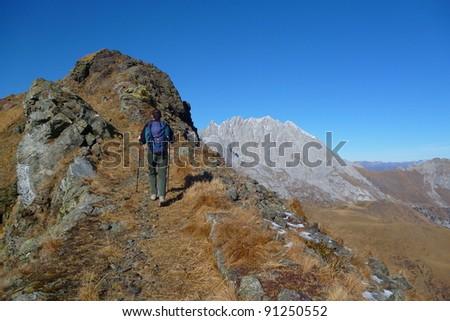 monte Crostis 02 - stock photo
