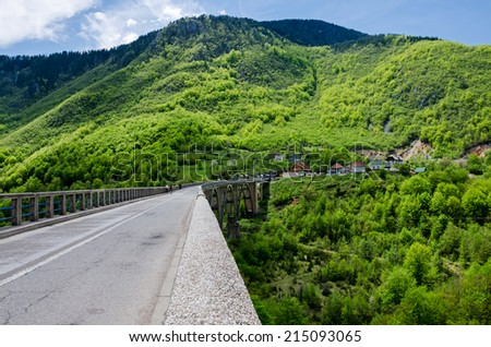 Montenegro. Bridge Djurdejevica - stock photo