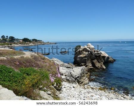 Monterey Bay California - stock photo