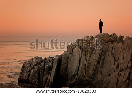 Monterey California, Lovers Point sunset