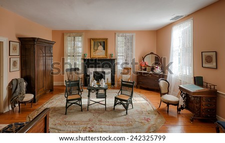 Image Dining Room Primitive Colonial Style Stock Photo 93954553 Shutterstock